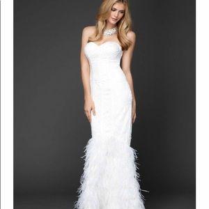 Bebe wedding dress